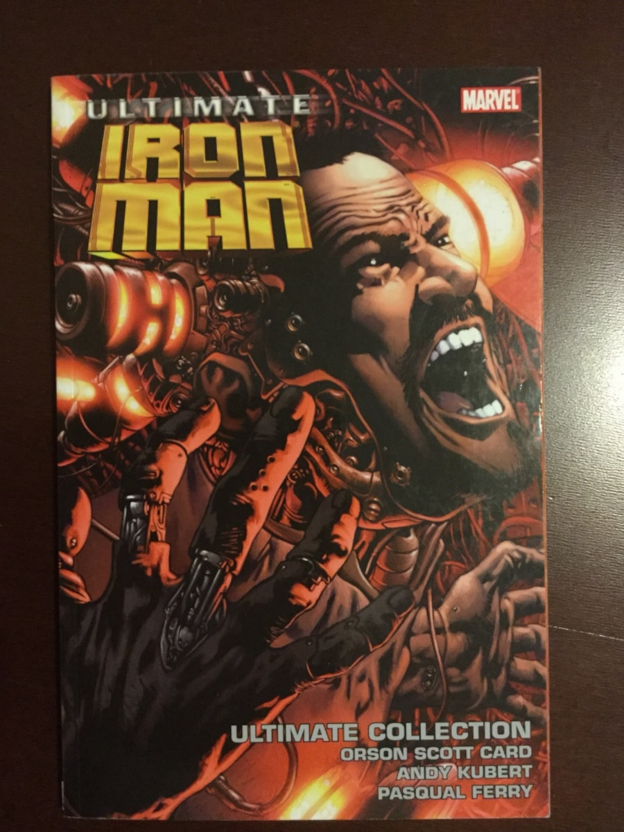 Marvel Ultimate Graphicnovels - iron man Spider-Man xmen - Negotiable