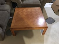 Wooden coffee table Cochrane, T4C