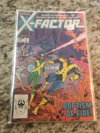 X-FACTOR NUMBER 1 (1985) first printing Mississauga, L4Z 2G6