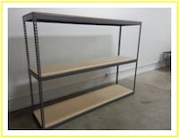 Boltless Shelving and Industrial Racking 8 ft W x 2 ft D Box Storage Los Angeles