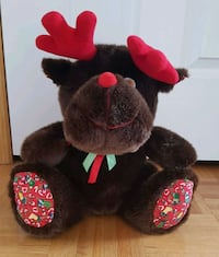 Stuffed Toy - Christmas Moose