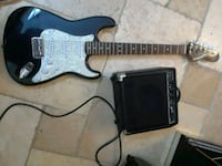 black and white electric guitar Miami, 33186