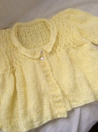 toddler's knitted yellow sweater Edgewater, 21037