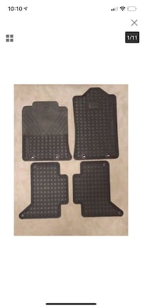 2012-2015 OEM Toyota Tacoma Double Cab All Weather 4 Piece Floor Mat Set --NEW-- Port Moody, V3H 1R8