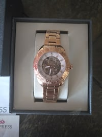NEW Empress EM1103 Automatic Jeweled Rose Gold Watch Toronto