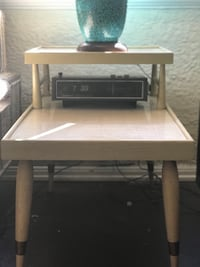 MCM Two Tier End Table