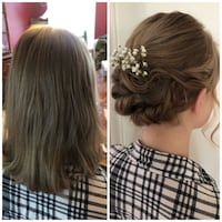 Wedding hair styling Boston