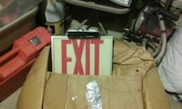 Fire EXIT sign Cleveland, 44109