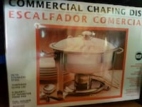 brand new commercial chafing food warmer  Montréal, H1G 4K5