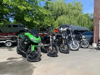 Multiple motorcycles for sale