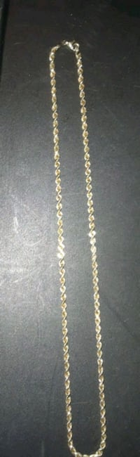 gold chain necklace-will trade Houston, 77092