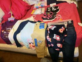 kids clothes shoes socks and panties clothes size