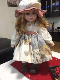 blond haired girl doll