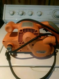 orange and gray Ridgid circular saw Pickering, L1V 3E2