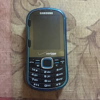 Samsung Blue Android Smartphone and charger Waterford, 48329