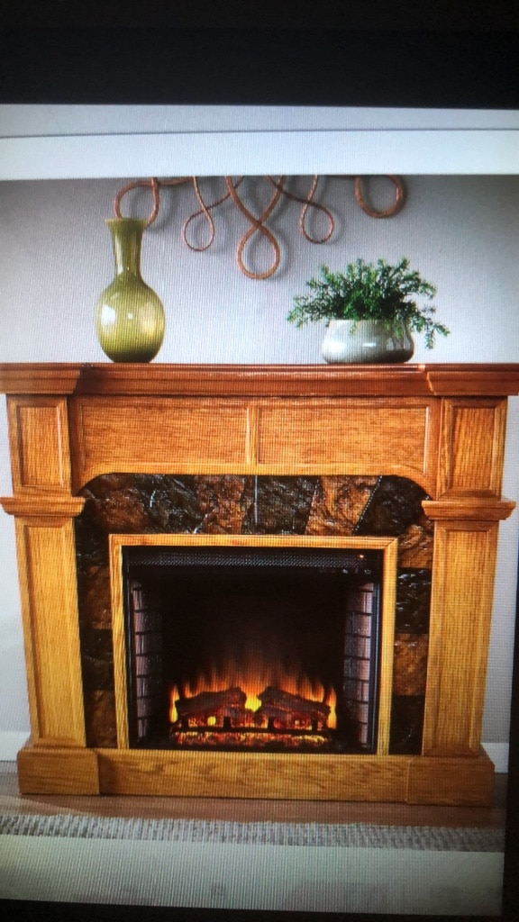 electric fireplace usado en venta en north richland hills letgo rh es letgo com