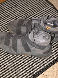 Pair of gray nike lebrons Cary, 27511