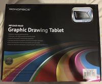 Monoprice graphic Drawing tablet.