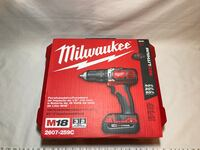 New Milwaukee M18 Compact Drill 1/2 in. Drill Driver Kit Tallahassee, 32304