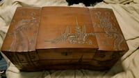 Very old hand carved Oriental jewelry chest Pensacola, 32504