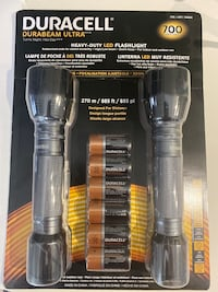 Duracell flashlights BRAND NEW  Silver Spring, 20906