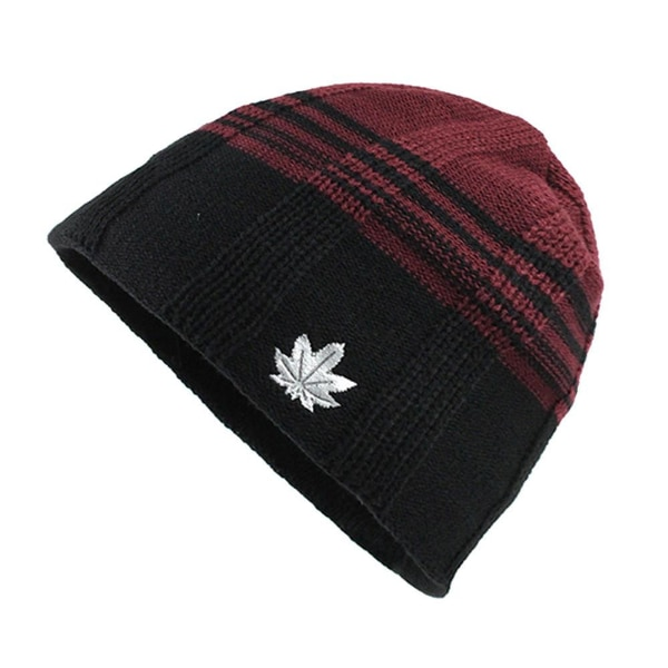Winter Wool Hats Cover Outdoor Beanie Cap For Men