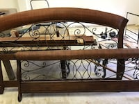 brown wooden headboard and footboard Fort Pierce, 34981