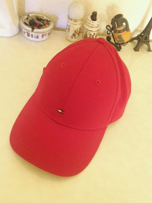 Rote Tommy Hilfiger Cap