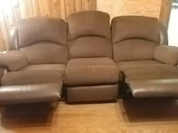 Couch with recliners  ends Warrior, 35180