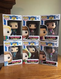 NIB Full Set of Saved By The Bell PopVinyls Madisonville, 70447