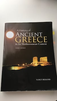 a History of Ancient Greece book Ottawa, K2C 0G8