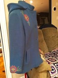 Vintage Wool Coat with Embroidery, small/medium Toronto, M4L 2X9