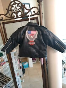 Harley Davidson Toddler Motorcycle Jacket