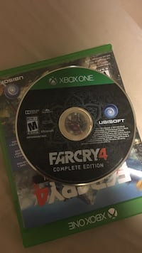 Farcry 4 xbox one game disc Colwood, V9B 4L9