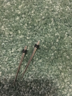 Stainless steel gauges 10g