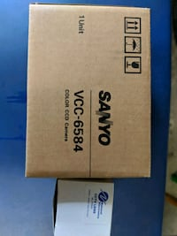 Sanyo security camera with National Lens