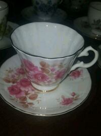 Royal Grafton Fine Bone China Teacup and Saucer Calgary, T2Y 2W5