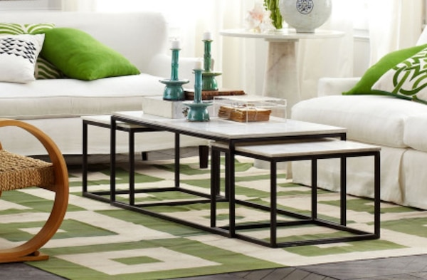 Set of Nesting Coffee Tables (3 pieces)