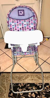 FLORAL BABY HIGH CHAIR Exeter, 93221