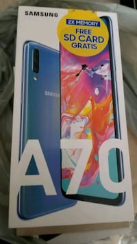 Brand New Sealed Samsung A70 Mississauga, L5M 7L9