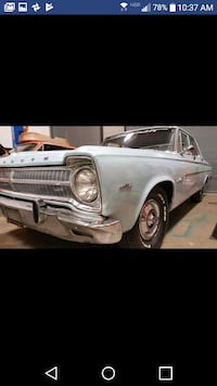 Plymouth - Belvedere - 1965 Silver Spring, 20904