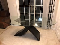 Glass Dining Room Table Reston, 20191