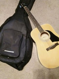 brown dreadnought acoustic guitar in case Schuylerville, 12871