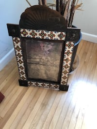 Small metal and tile frame Los Angeles
