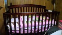 5-in-1 convertible crib and bedding no mattress Ellinwood, 67526