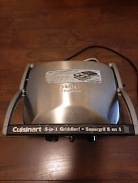 Cuisinart  5 in one supergril Toronto, M4P 1V5