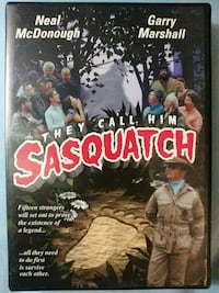 They Call Him Sasquatch dvd