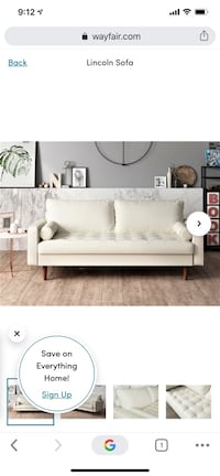 Lincoln Sofa from Modern Rustic Interiors Couch