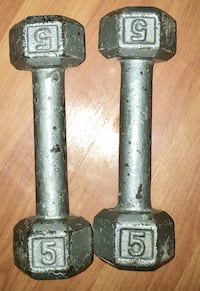 Two gray metal adjustable dumbbells Chicago, 60608