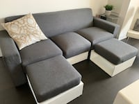 Sofa with built in foot rest Markham, L3P 2R9